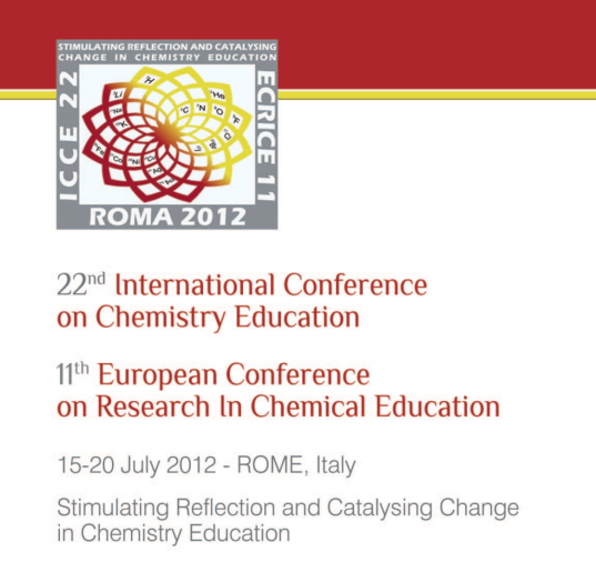 22nd International Conference on Chemistry Education & 11th European Conference on Research In Chemical Education
